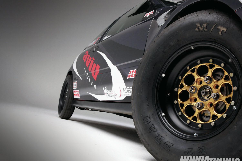 Honda Civic Magnum Import Weld Wheels